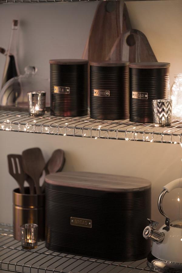 емкости для хранения чая и кофе
